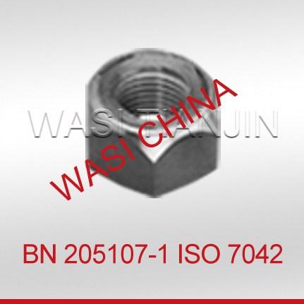 金属锁紧螺母DIN980_ISO7042锁紧螺母采购