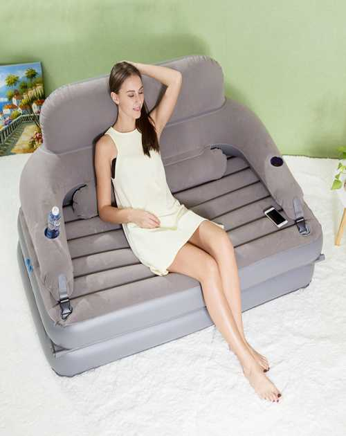 家用双人充气沙发床报价_双人充气沙发床_双人充气沙发床多少钱