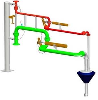 液氨装卸臂报价/通用快速接头报价/连云港名扬石化设备制造有限公司
