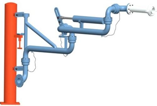 江苏装卸油鹤管厂家 优质液化气鹤管厂家 连云港名扬石化设备制造有限公司