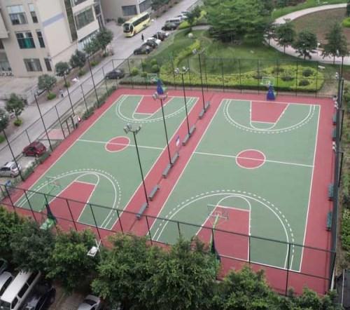 济南塑胶篮球场-塑胶篮球场施工-青岛青洋塑胶铺装有限公司