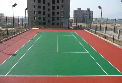 济南塑胶网球场工程_行业信息网