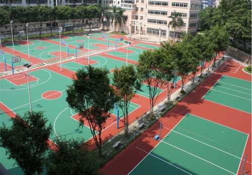 塑胶球场-山东塑胶球场-青岛青洋塑胶铺装有限公司