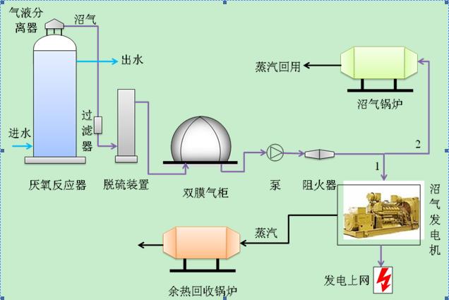 沼气回收发电-专业沼气回收发电-山东绿泉环保科技股份有限公司