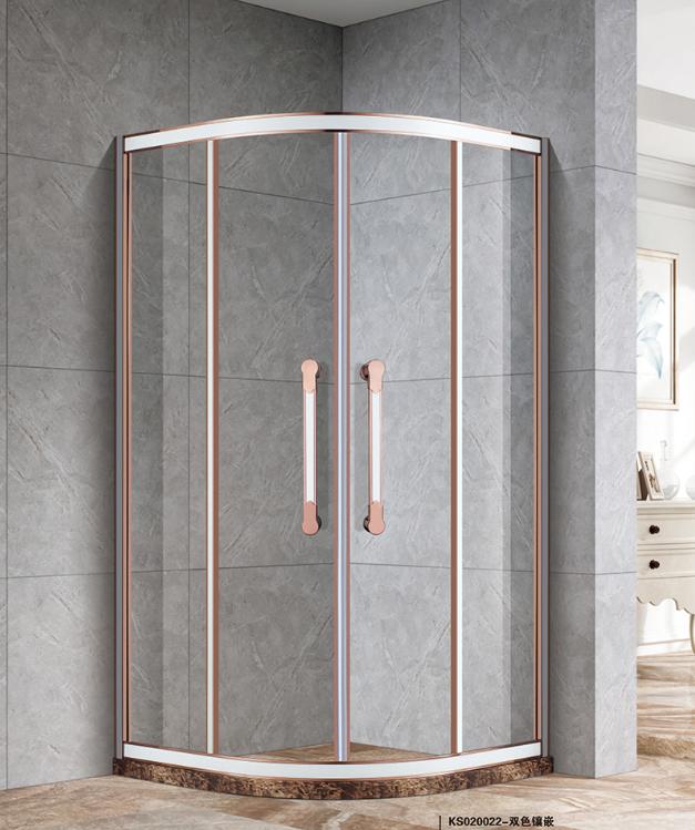 不锈钢扇形淋浴房报价 十大淋浴房排名 中山市凯莎卫浴有限公司