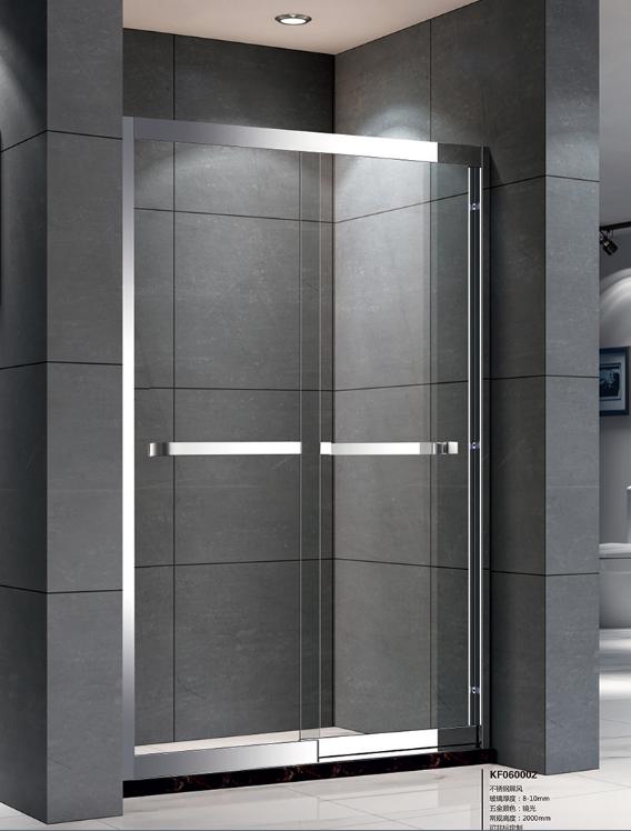 一字淋浴房 非标扇形淋浴房 中山市凯莎卫浴有限公司