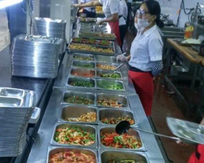 专业职工餐预订-美味的团餐承包-西安香积厨餐饮管理有限公司