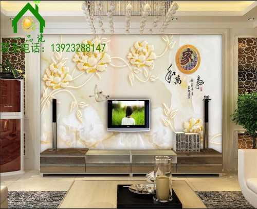 3D电视墙效果图 瓷砖背景墙多少钱 佛山市陶尚方建材有限公司