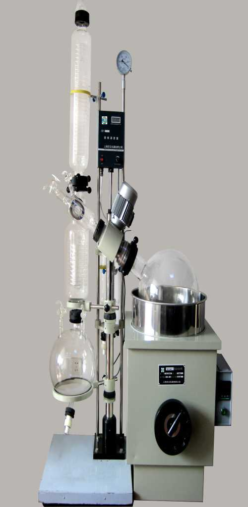 智能旋转蒸发仪厂家_2L双层玻璃反应釜_上海吉众生物科技有限公司