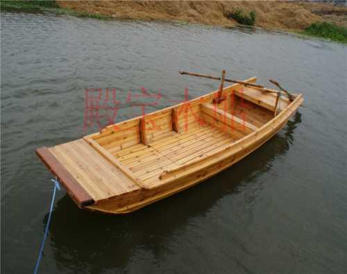 中式手划船制造商/观光餐饮船哪家好/兴化市殿宝木船制造有限公司