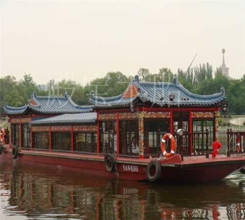 传统餐饮船报价_传统画舫船价格_兴化市殿宝木船制造有限公司