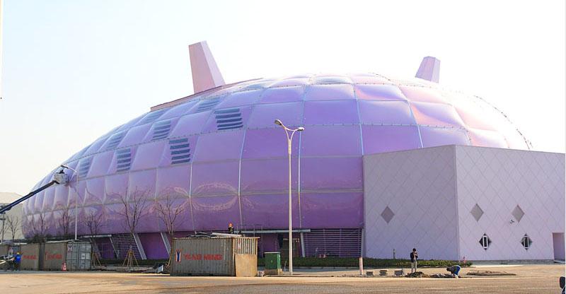 甘肅ETFE膜材多少錢一平米/西安PVDF膜材多少錢一平米/西安揚帆工程建設有限公司