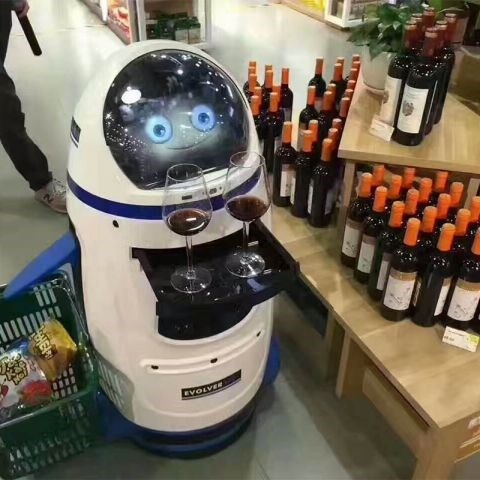 餐厅服务机器人加盟代理/数控机床生产厂家/四川睿智合智能装备有限公司