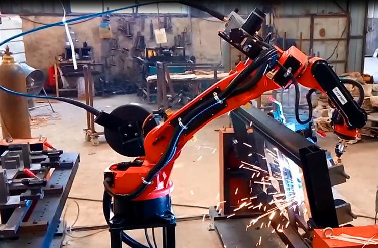 自动化焊接机械手/北一立式数控机床制造有限公司/四川睿智合智能装备有限公司