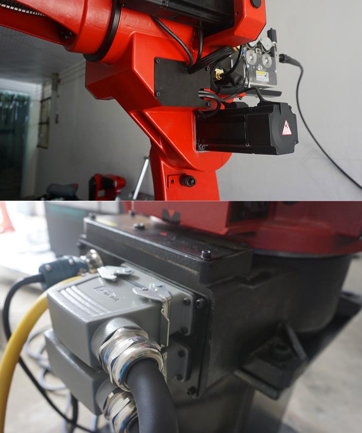 六轴焊接机械手手臂/数控机床型号/四川睿智合智能装备有限公司
