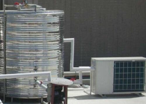 空气能中央热水工程施工_中央空调价格_云南中菱空调工程有限公司