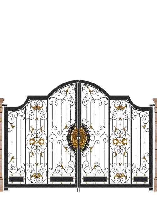 欧式别墅庭院门