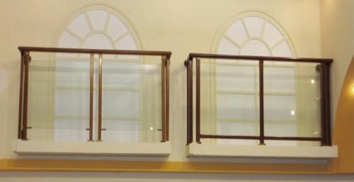 楼梯组装栏杆厂家/庭院围墙欧式楼梯扶手定制/鸿图铁艺
