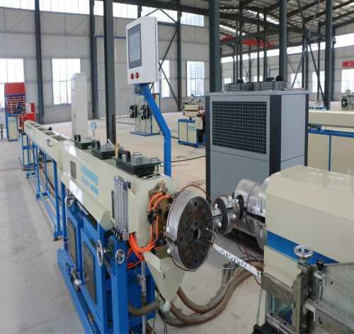 贴片式滴灌带生产线/优质滴灌带生产线/莱芜市立金机械有限公司