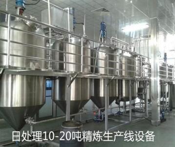 玉米油精炼设备生产厂家/烟台榨油机生产厂家/济南华奥机械有限公司