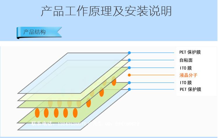 玻璃调光膜厂家 调光膜生产厂家