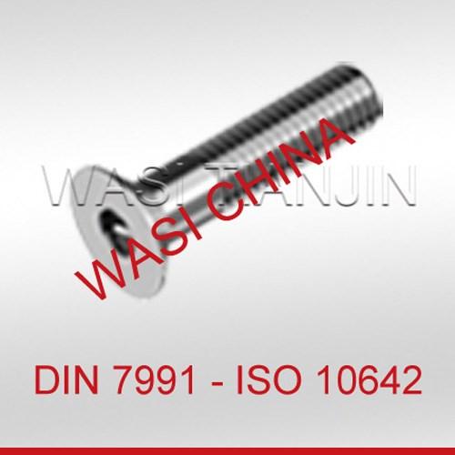 沉头螺栓DIN7991规格_不锈钢DIN7991供应_A4-70DIN7991
