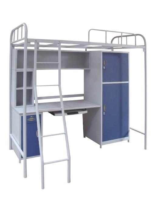 公寓床批发/更衣柜防虫/佛山市顺德区启润钢制家具有限公司