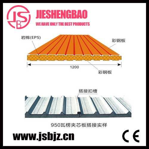 夹芯板* 678型楼承板生产 杭州杰晟宝建筑围护系统有限公司