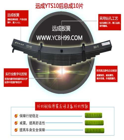 挂车板簧消费厂家 江西汽车弹簧钢板公司 江西远成汽车技能株式会社