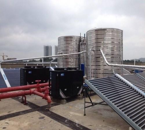 广东太阳能中央热水空气能热水器锅炉热水安装_汕头中央空调