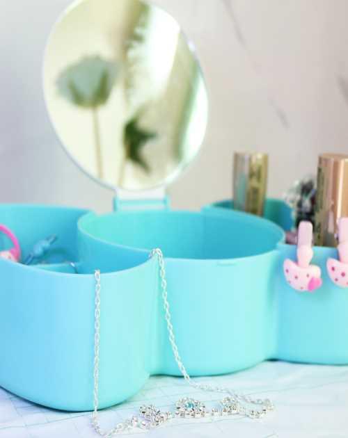 化妝鏡首飾盒采購-創意首飾盒定制-多功能首飾盒定制