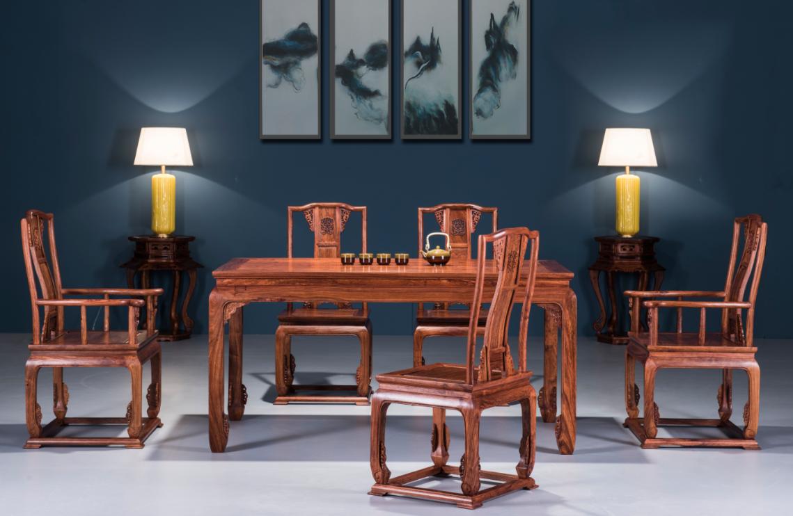 红木餐桌/餐桌/佛山市顺德区直觉家居有限公司