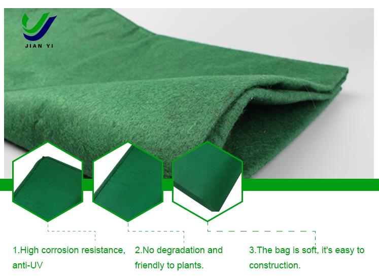生態袋護坡/pvc透水管安裝/長沙建益新材料有限公司