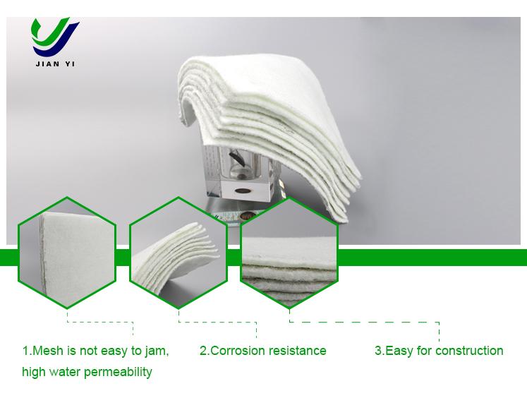 短纤土工布厂家/长沙膨润土防水毯厂家/长沙建益新材料有限公司