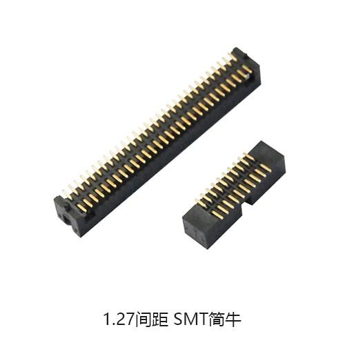 仿莫仕简牛连接器 1.0间距排母哪家好 深圳市硕凌电子科技有限公司