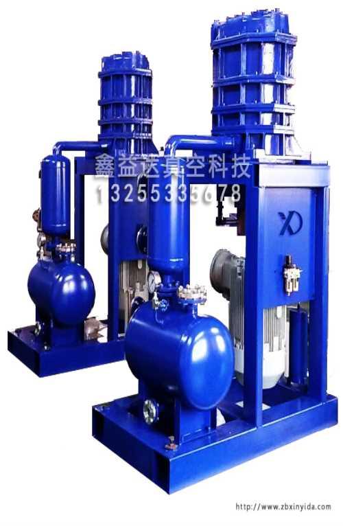 溶劑干式爪型真空泵/雙級羅茨真空泵/淄博鑫益達真空科技有限公司