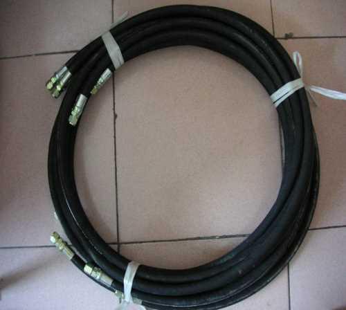 钢丝缠绕胶管供应/四氟304金属软管供应/王子液压管件有限公司