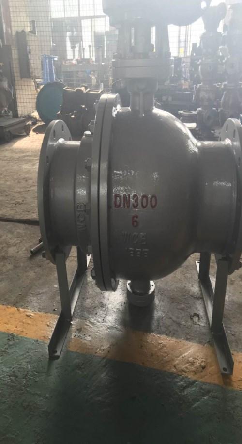 温州卸灰球阀供应商_MQ347F炼铁设备