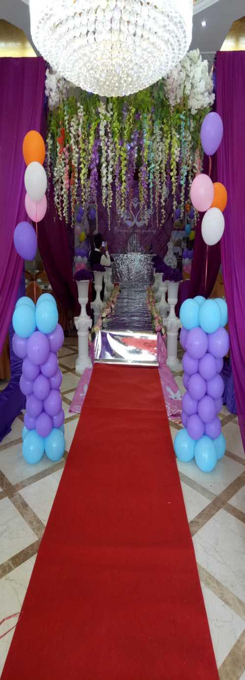 楼盘气球布置图片-新店开业气球布置图-成都新球崛起气球装饰有限公司
