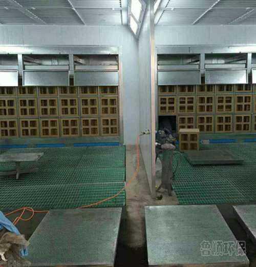 涂装干式喷漆房环保型/附近环保设备厂家价格/济南鲁顺环保设备有限公司
