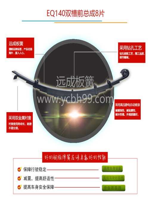 面包车汽车弹簧钢板价格/重卡汽车弹簧钢板定制/商用汽车弹簧钢板