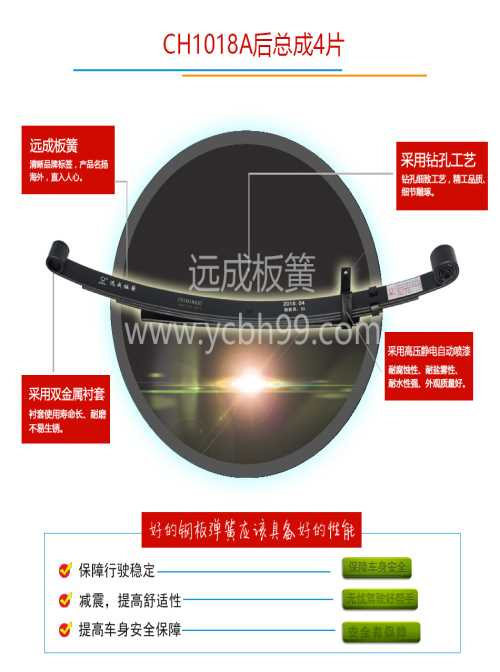 汽车钢板弹簧厂-货车板簧零售-江西远成汽车技能株式会社