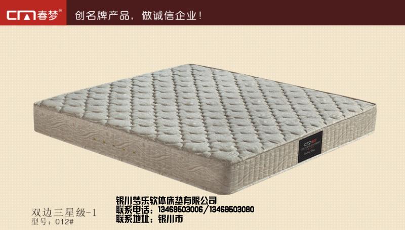 左旗透气床垫-平凉榻榻米床垫多少钱-银川梦乐软体床垫有限公司