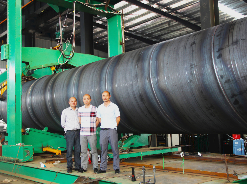 大口徑螺旋鋼管/定制螺旋鋼管規格/大口徑螺旋鋼管批發