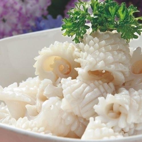 新鲜鱿鱼花的营养价值 哪里有火锅食材批发市场 双流县王彬水产批发部