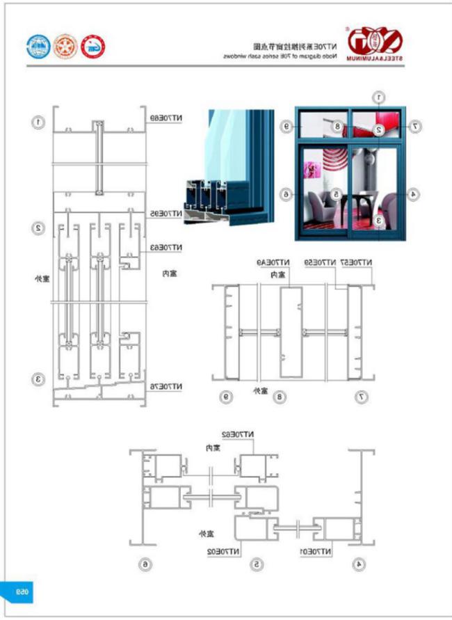 氟碳建筑型材_隐框幕墙铝材厂家_广东艺华不锈钢铝业有限公司