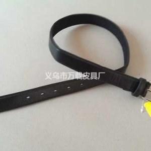 搭扣式皮带定制-双面绒流苏-义乌市万载皮具有限公司