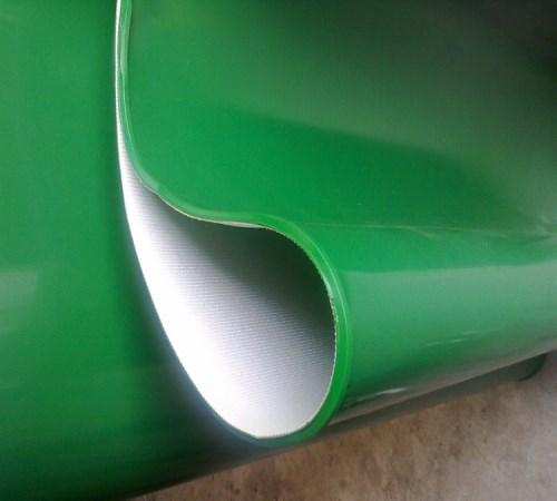 白色磁选机皮带-上海PVK皮带生产商-上海静微传动设备有限公司