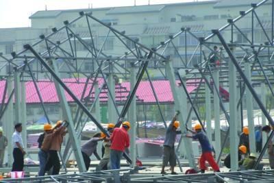 不锈钢电焊工程 银川楼顶大字公司 宁夏金亮敏广告装饰工程有限公司