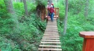 *丛林穿越_湖南吊桥厂家供应价格_河南省润发游乐设备有限公司